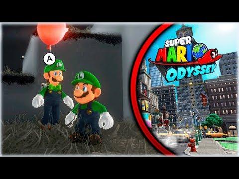 NUEVO MODO DE JUEGO EN LA NUEVA ACTUALIZACION de Super Mario Odyssey - [WithZack]