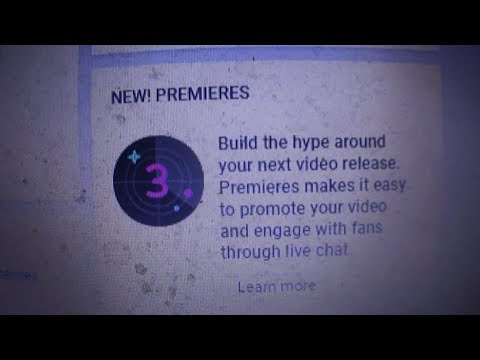 How to use the NEW Premiere feature on your Youtube channel (Instructional Video) Mp3