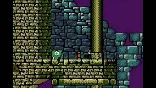 Tomb Raider (GBC) First Level Part 2