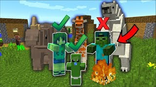 Minecraft DAYCARE BABY ZOMBIE ZOO MOD / FIND ALL THE BABY MONSTERS IN MINECRAFT !! Minecraft