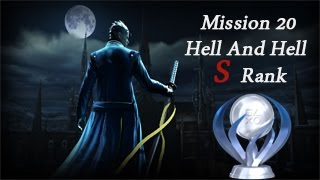 Devil May Cry 4: Special Edition Vergil Mission 20 Hell And Hell S rank + Platinum Trophy