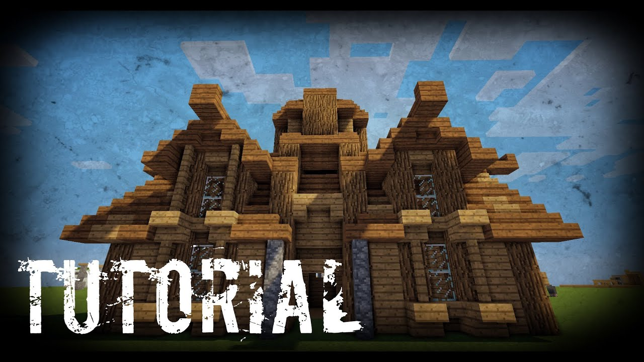 Minecraft como hacer una casa medieval tutoriales - Crear tu casa ...