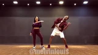 Melvinlouis nd Neha Kakkar amazing 1st dance ghar pr ludo khelugi