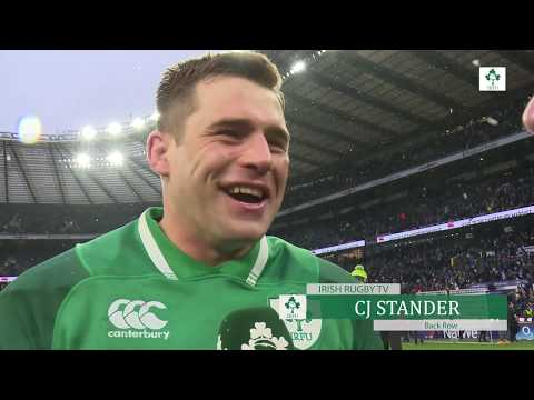 Irish Rugby TV: CJ Stander On Becoming A Grand Slam Champion