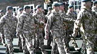 RAF NO 1 Squadron homecoming parade