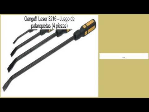 4 piezas Juego de palanquetas Laser 3216