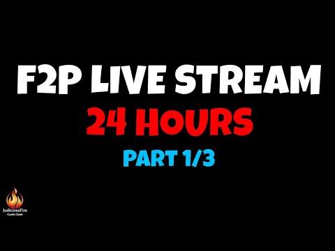 Castle Clash F2P 24 Hour Live Stream (Part 1/3)
