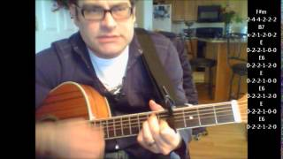 how-to-play-alvin-and-the-chipmunks-christmas-song-on-acoustic-guitar