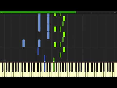 Porter Robinson - Goodbye To a World (Piano Cover) | TUTORIAL