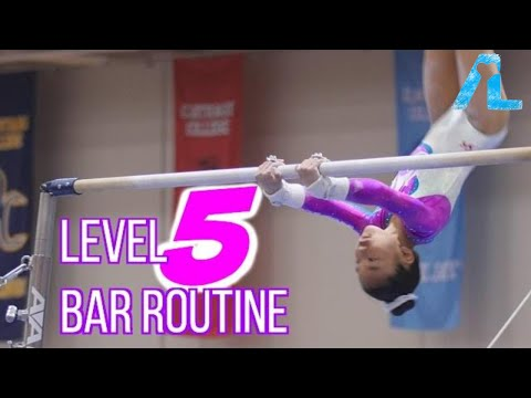 Alizé Lee | USA Gymnastics Level 5 Bar Routine