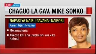 Gavana Sonko atangaza chaguo lake la nafasi ya Naibu Gavana