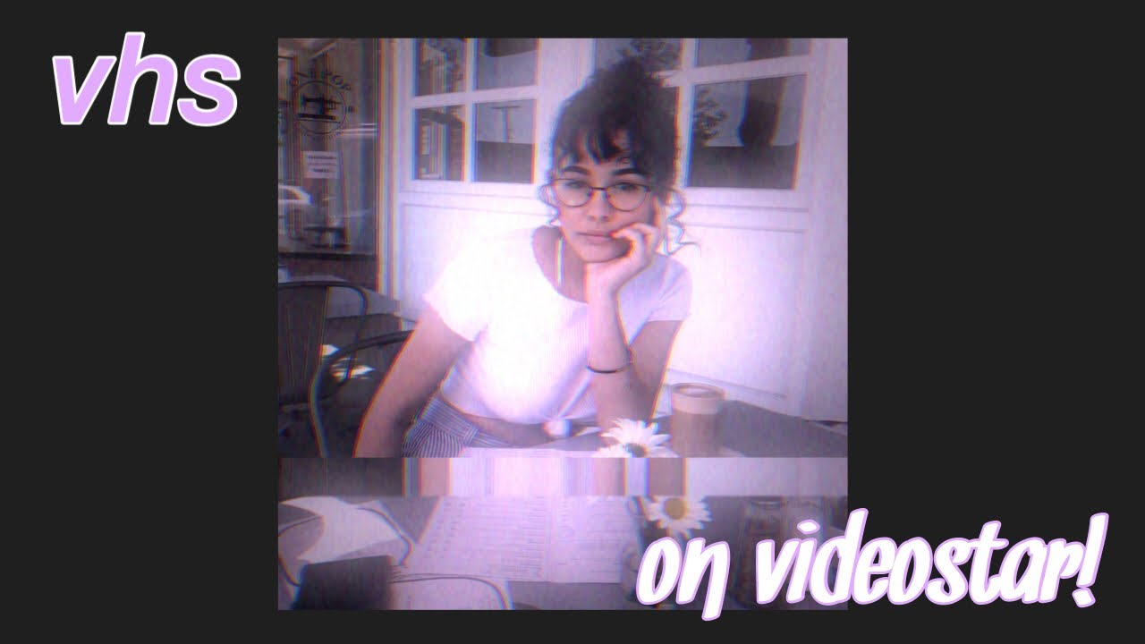VHS COLORING ON VIDEOSTAR!