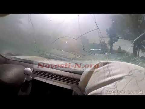 Новости-N: Момент тройного ДТП в Николаеве: передняя камера