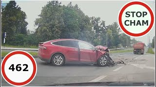 Stop Cham #462 - Niebezpieczne i chamskie sytuacje na drogach