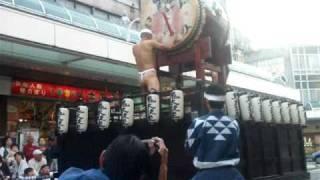 2009年10月11日(日) 富士市の吉原本町通りで行われた宿場まつりでのパ...
