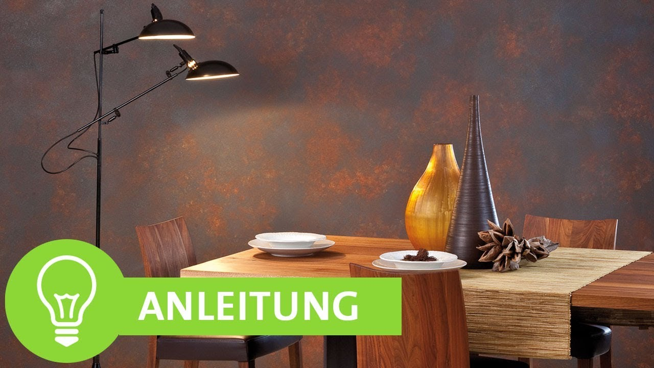 Kreative Wandgestaltung mit den ADLER Color Emotion Metalleffekten ...