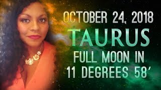 FULL MOON IN TAURUS 2018