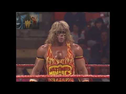 UNRELEASED Tag Match, Ultimate Warrior & Bret Hitman Hart Vs Papa Shango & Kamala 13th Oct 1992 thumbnail