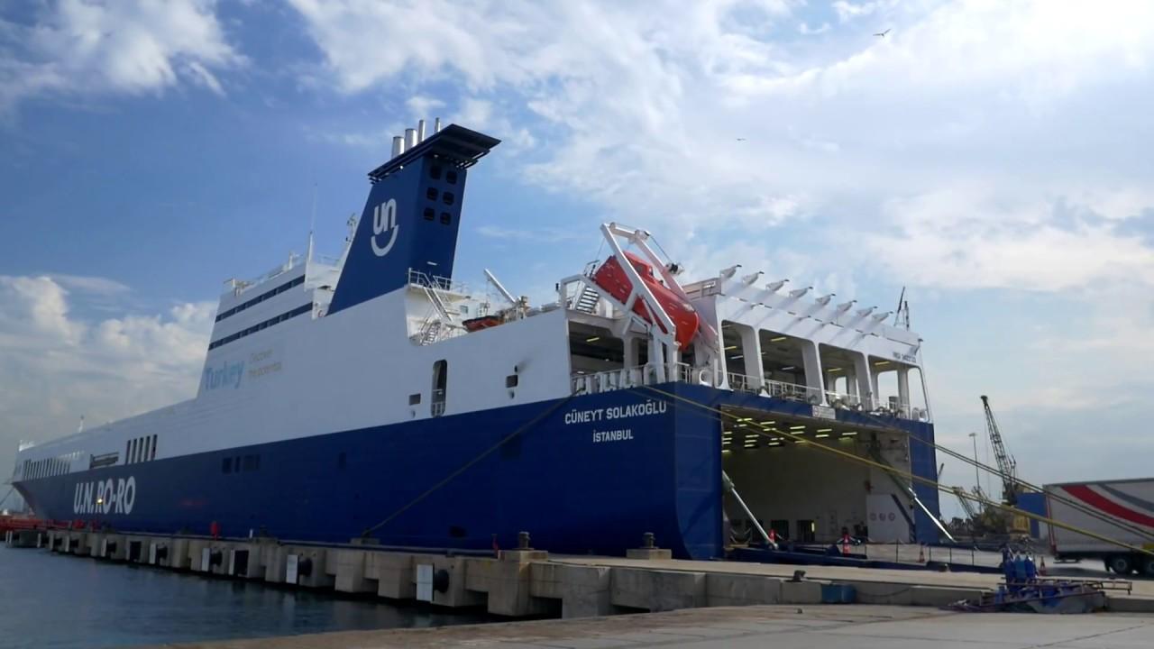 Αποτέλεσμα εικόνας για un ro ro ship trieste istanbul