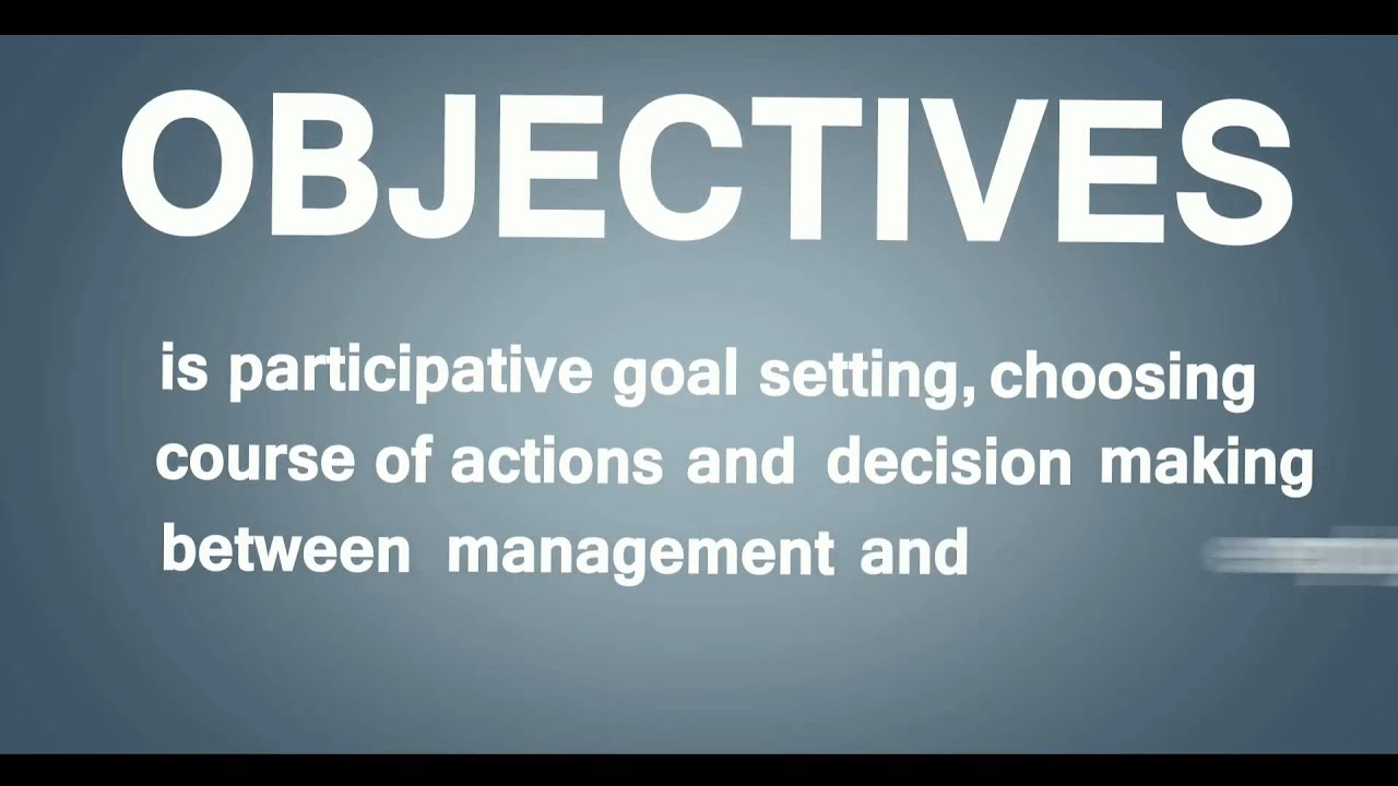 can division manager devepol verifiable goals or objectives