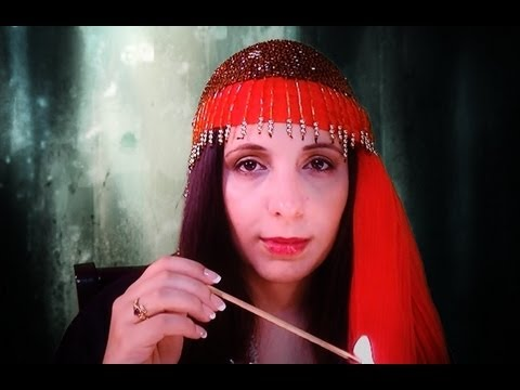 ASMR Fortune Teller Tarot Card Reading Role Play for Relaxation