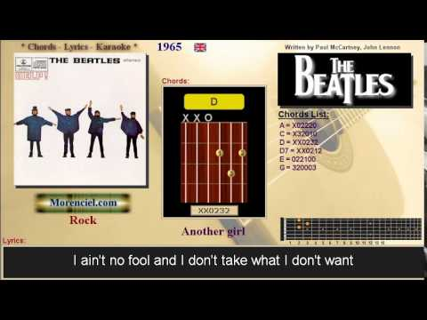 The Beatles - Another girl #0323