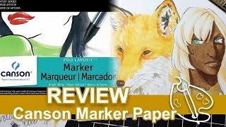 Canson Marker Paper Review