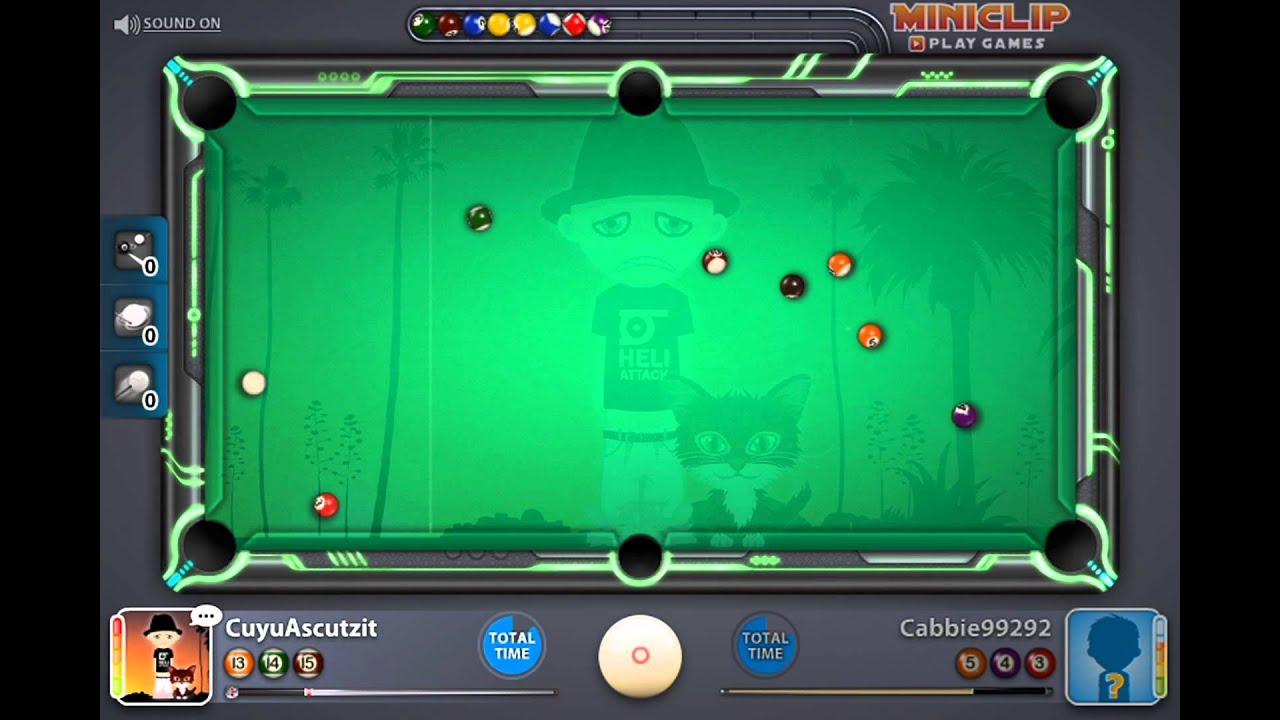 Miniclip 8 Ball Pool  Most Beautiful Table  Youtube