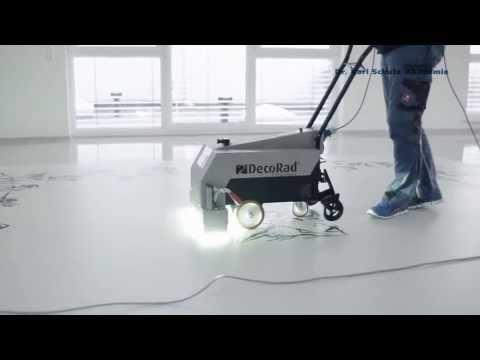 Gut gemocht Bodenfolie mit UV-Lack versiegeln (Firmenlogo, Wegweiser MT43