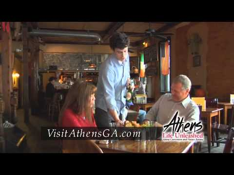Athens GA: Great Getaway from Atlanta, on WXIA