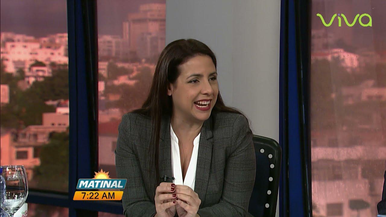 Ginette Bournigal, senadora de Puerto Plata por el PRM - Matinal