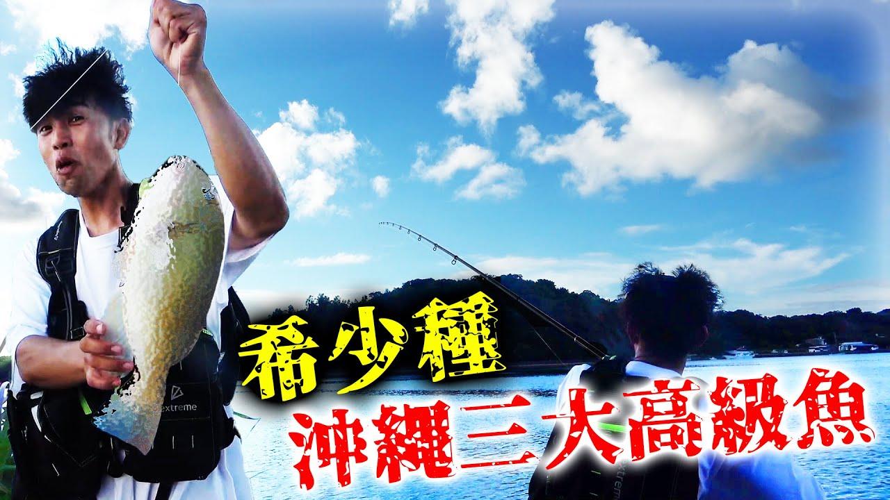 【希少種】めったに釣れない沖縄三大高級魚を釣り上げる!【大潮の日の北部遠征#3】