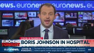"""Boris Johnson in hospital: """"The stay is precautionary"""""""