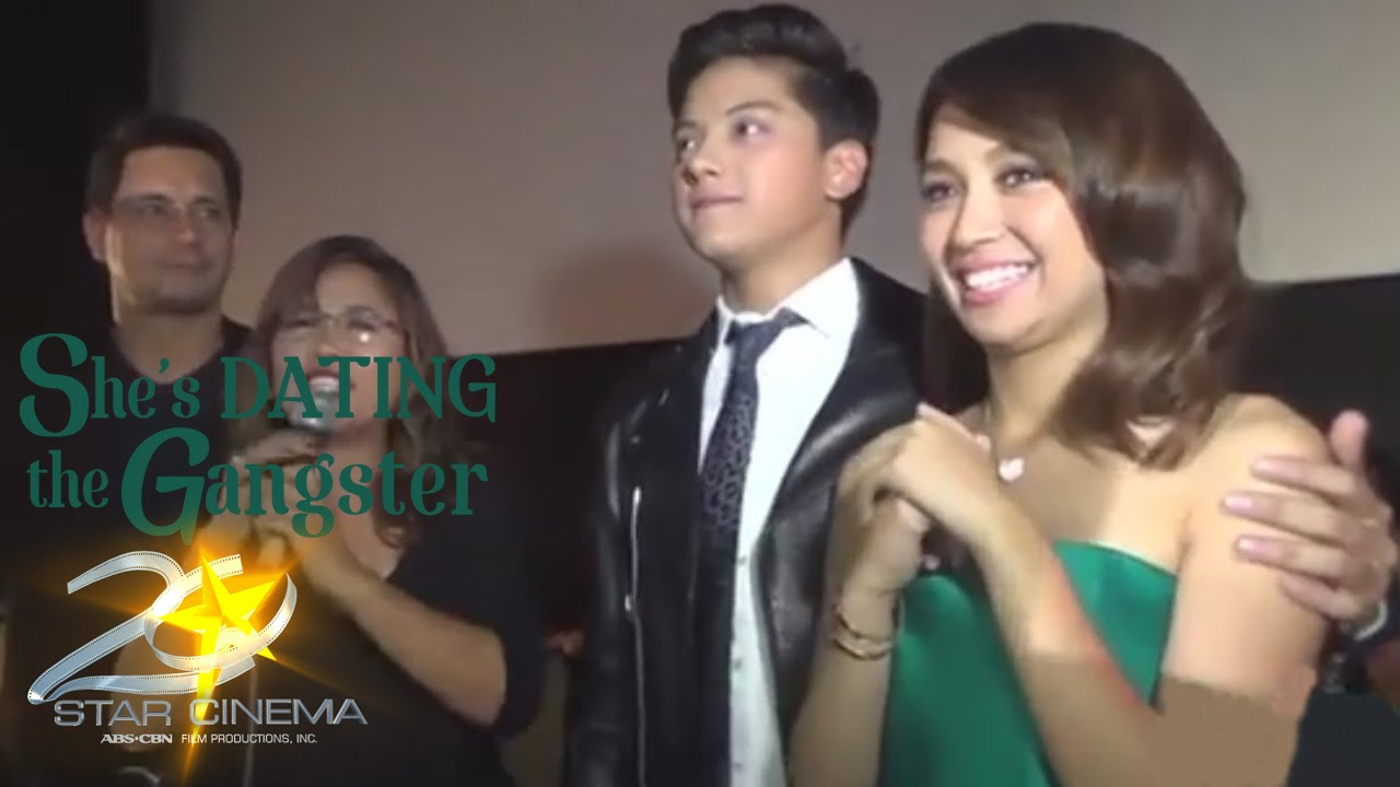 Kathniel victory party shes dating the gangster movie