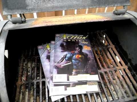Superman Renounces United States Citizenship - Former Fan Burns Comics