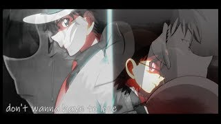kaito & shinichi | [don't wanna have to lose] (+ Detective Conan Movie 23)