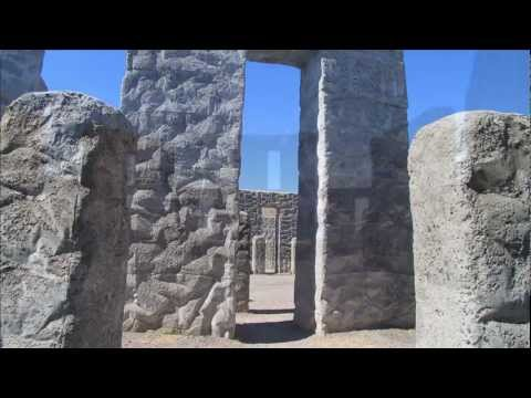 Stonehenge - A full size replica in Maryhill, Washington