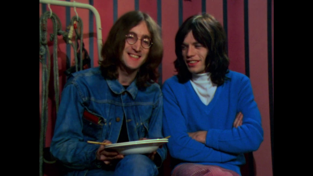 The Beatles Polska: Rock And Roll Circus - John Lennon występuje w koncercie The Rolling Stones
