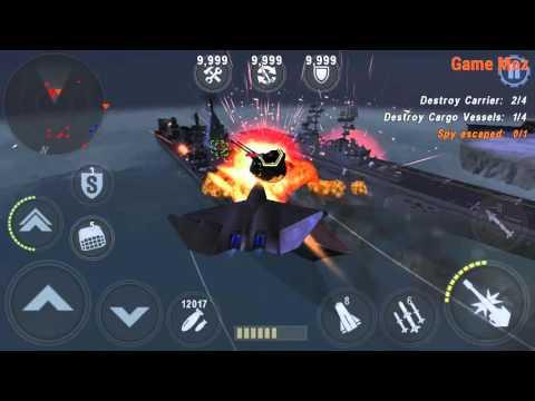 GUNSHIP BATTLE: YF-23 Black Widow 2 Master (X10 Power)