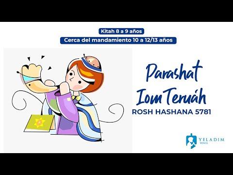 Parasha #IomTeruah #RoshHashana para Niños  - (9 a 13 años)