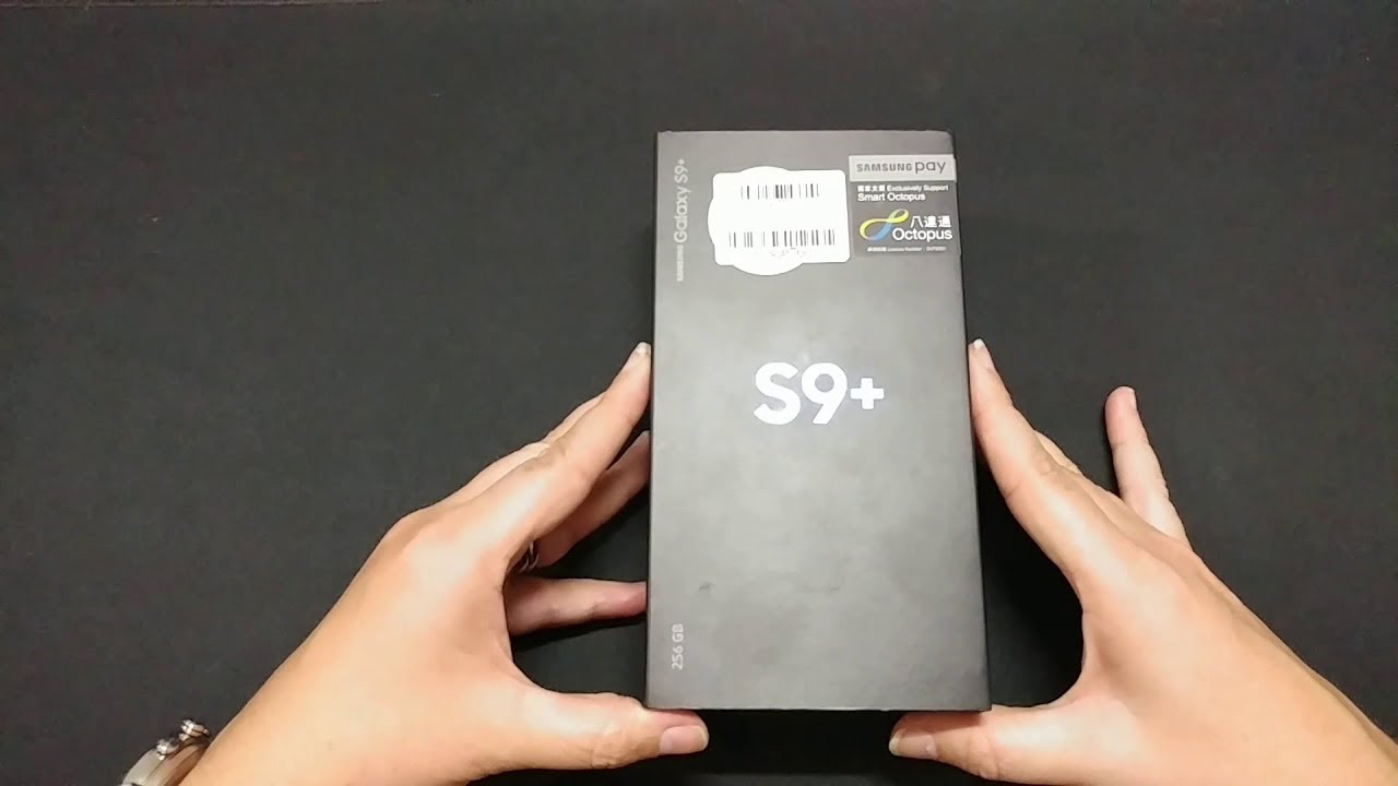 Samsung S9+ Dual Sim Hong Kong Version unboxing SM-G9650