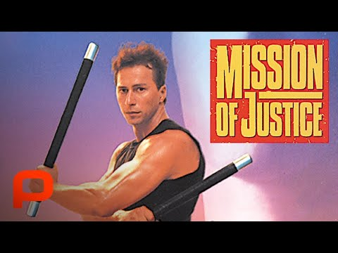 Mission Of Justice (Full Movie) racist leader of a secret neo-fascist group out to take control