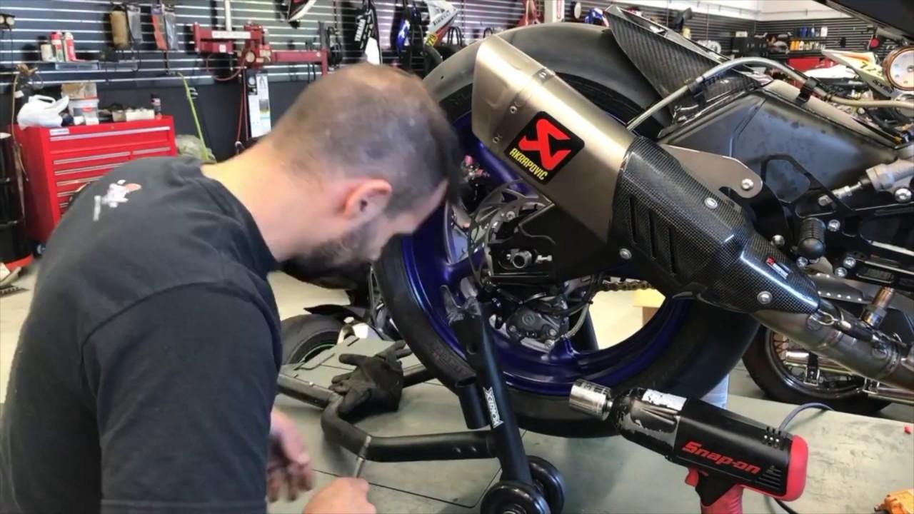 2017 Yamaha R6 Track Bike Build Up Date