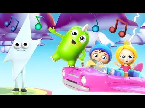 Мультик песня для детей - Молния, молния - Веселые песенки