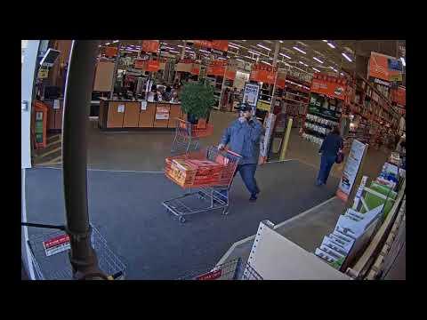 Home Depot 18 02039 Tool Theft