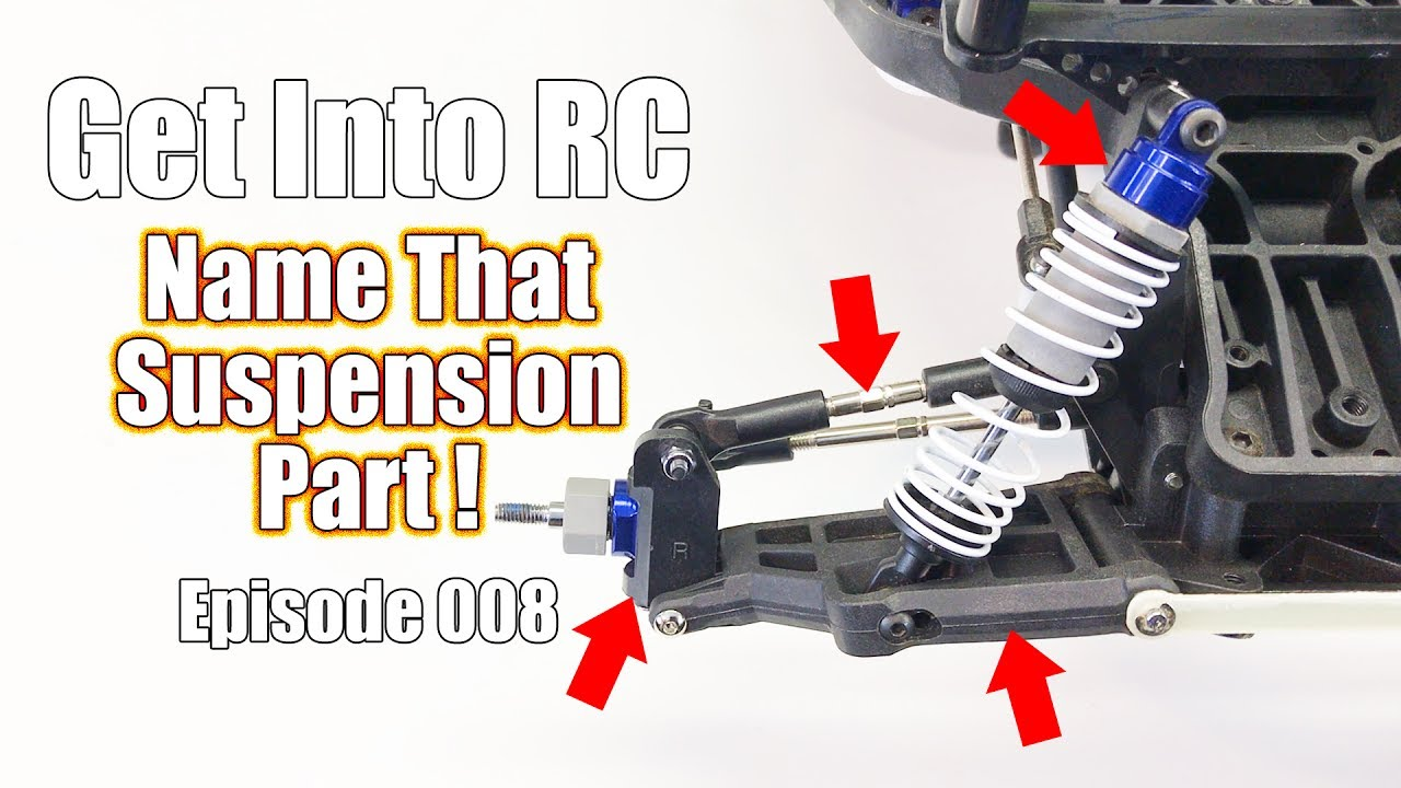 RC School - Names of Suspension Parts - Get Into RC | RC Driver ...