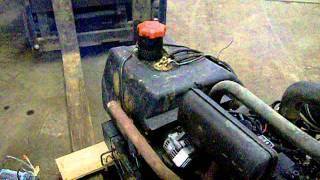 3 CYLINDER YANMAR DIESEL - COMPLETE ENGINE