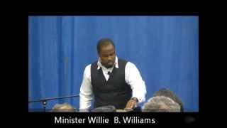 """Do You Have Something Better To Do?"" Evangelist Willie B. Williams III sermon  (Church of Christ)"