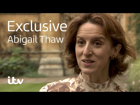 Endeavour Abigail Thaw  Behind the s  ITV