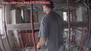 Remplacer une poutre en chêne en rénovation